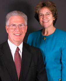 G. Edward Reid, North American Division Stewardship Director, and wife, Kathy.